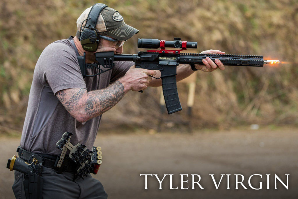 Tyler Virgin Team Grey Ghost Shooter