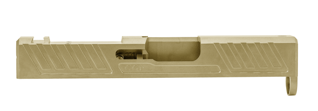 SPG43-RMS Glock® 43 Stripped Slide milled for Shield RMS
