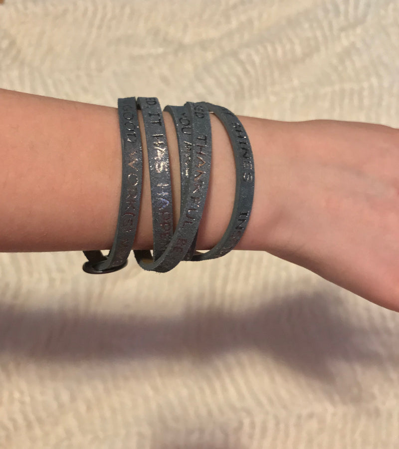 Wrap Bracelet with Inspiration