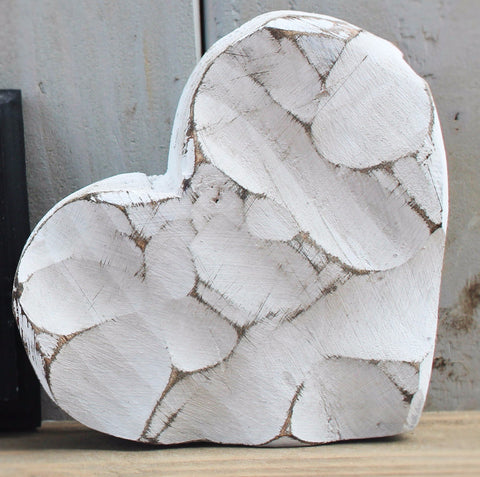 Chunky Wooden Heart