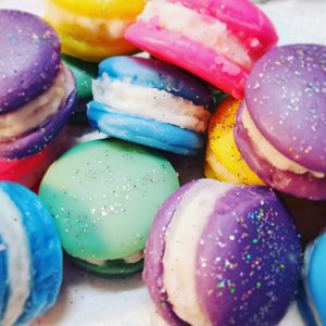 Rainbow Macaron Wax Melt Sampler Set
