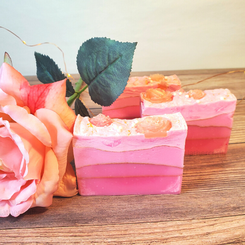 Ombré Rose Artisan Soap