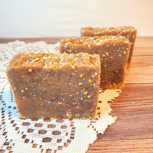 Oatmeal, Milk & Honey Artisan Soap.