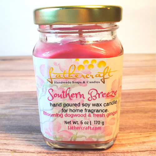 Southern Breeze Candle Jar.