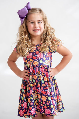 Lollipops Twirl Dress