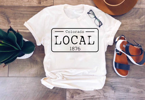 Local Adults Tee (You Pick the State)