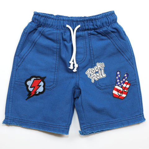 Rock On Canvas Short (Size 2T)