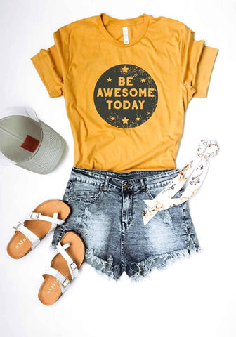 Be Awesome Today Adult Tee