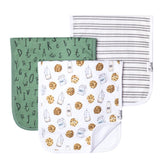 Chocolate Chip Burp Cloth (Set of 3) - Copper Pearl
