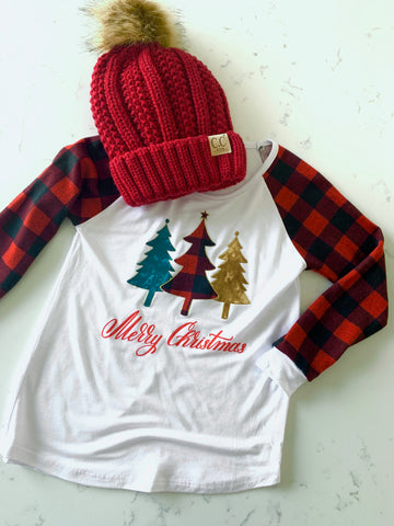 Christmas Trees Holiday Tee