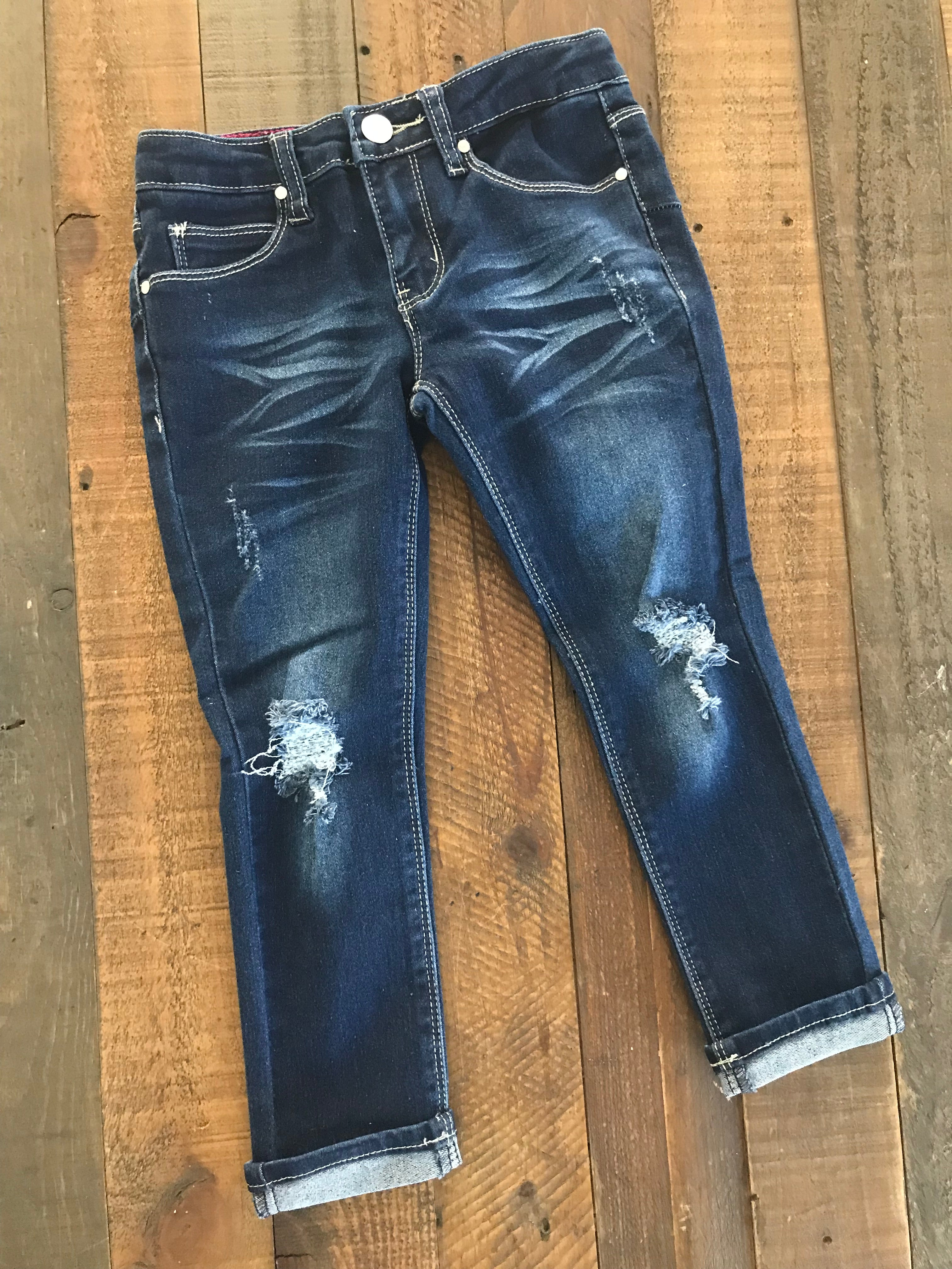 Emerson Distressed Jeans (4-6x)