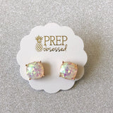 Funfetti Square Glitter Studs (Multiple Colors)