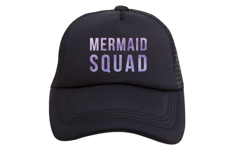 Mermaid Squad Trucker Hat  (Toddler)