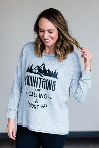Mountains are Calling Top - Women's