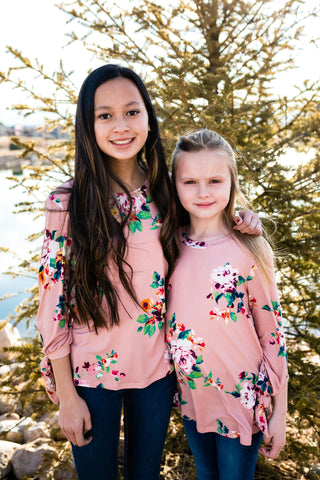 Natalia Floral Top (Girls 8-16)