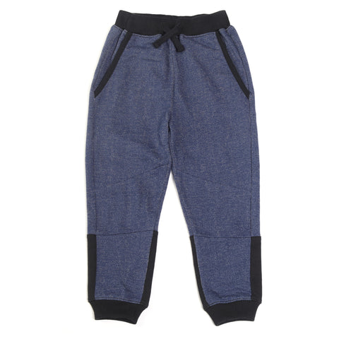 Indigo French Terry Jogger