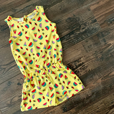 Toddler Watermelon Romper