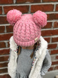 Double Pom Beanies (Multiple Colors)