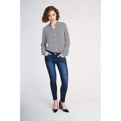1822 Denim Ladies Dark Ankle Skinny Jeans In Raquel 24 Jeans