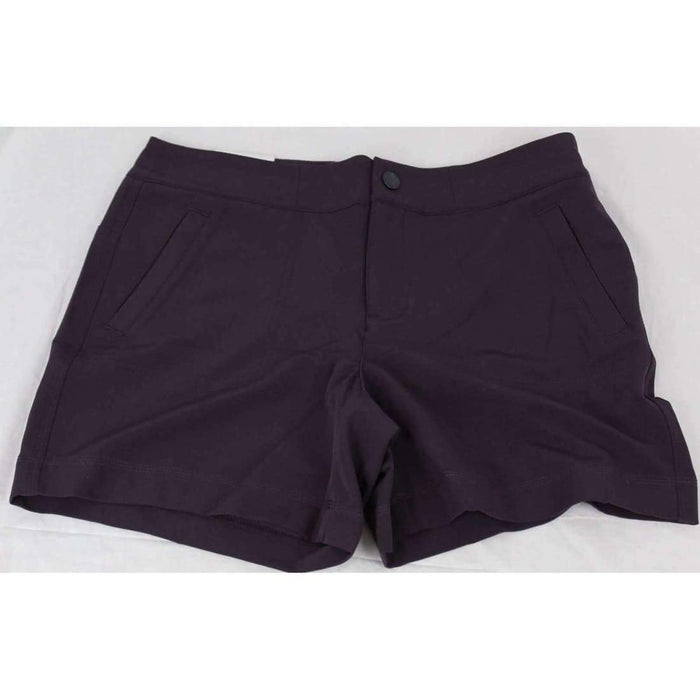 32 Degrees Cool Shorts Womens Soft Comfort Stretch 4 / Burgundy Shorts