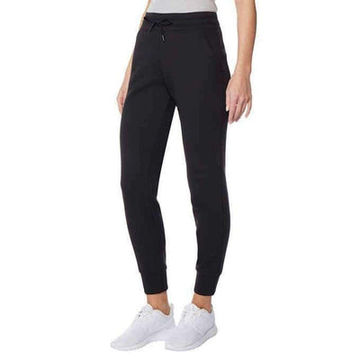 32 Degrees Ladies Tech Fleece Jogger Pant Xl-Black Pants & Shorts