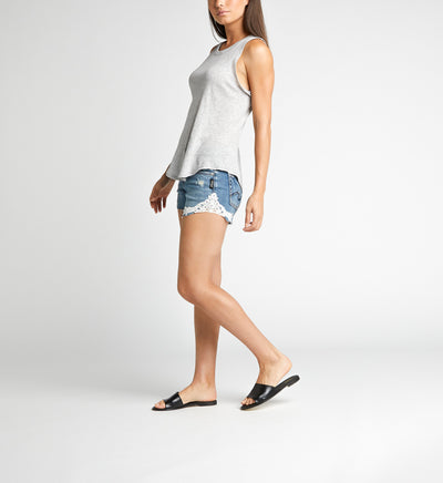 Silver Jeans CO. Ladies' SUKI Mid Rise Short