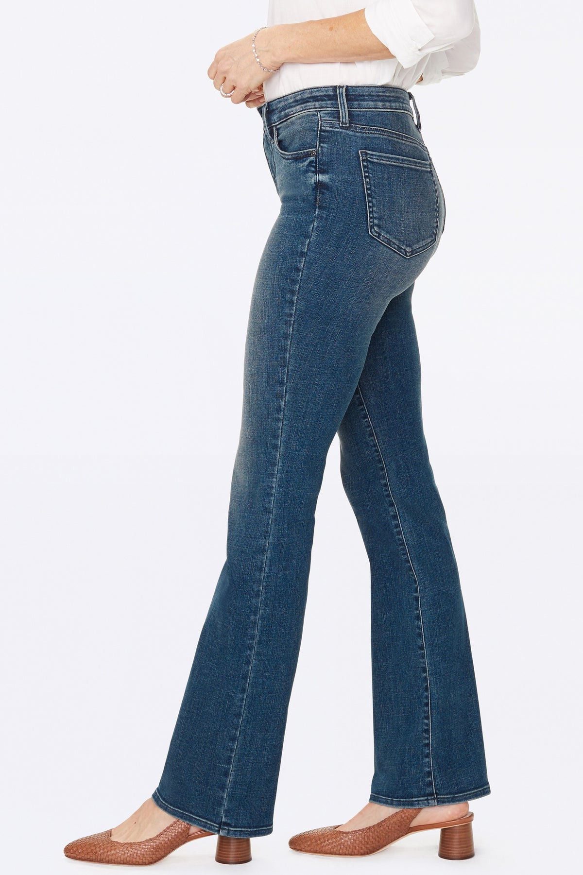 NYDJ Barbara Bootcut Jeans Color Lombard