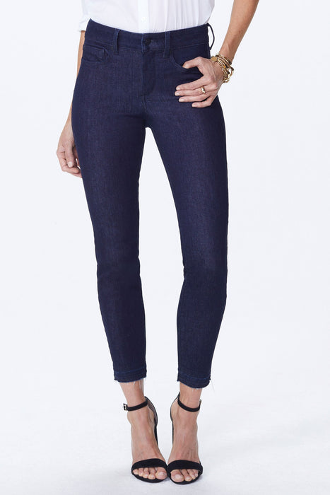 NYDJ Ami Skinny Ankle w/ Released Hem Color Rinse