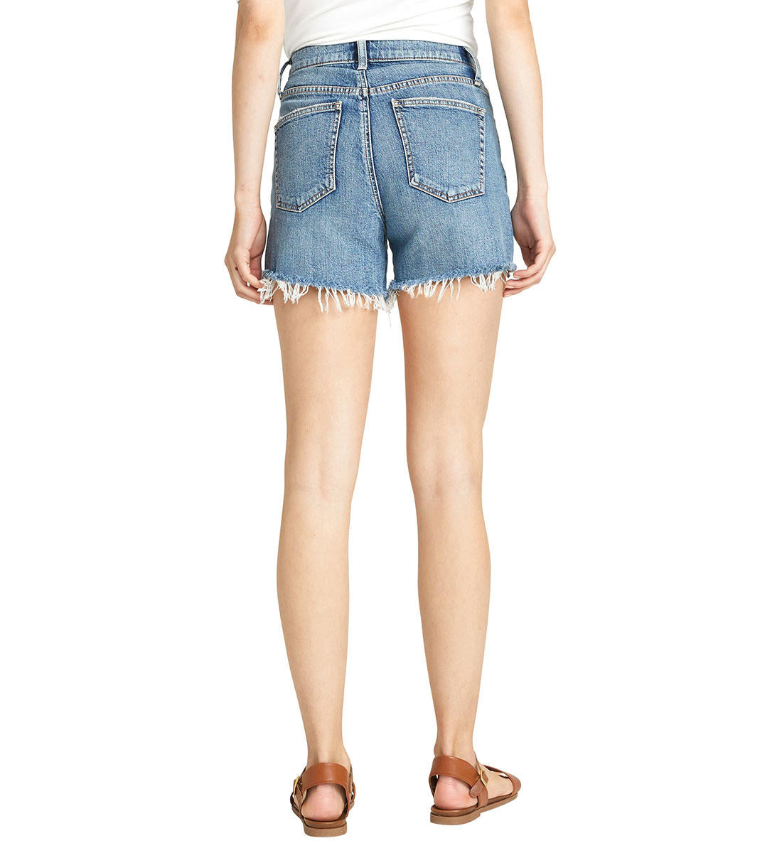 Silver Jeans CO. Ladies' Frisco High Rise Short
