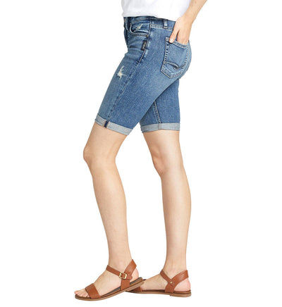 Silver Jeans CO. Ladies' Avery High Rise Bermuda Short