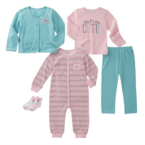 Absorba Infant Girls 5-Piece Set 3M Outfits & Sets
