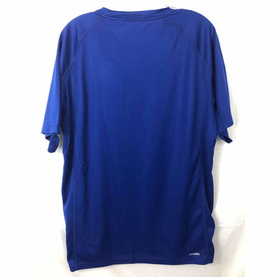 Adidas Mens Short Sleeve Poly Cs T-Shirt Athletic Apparel