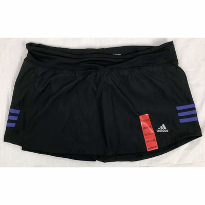 Adidas Womens Response Climalite Skort M / Purple Stripe Athletic Apparel