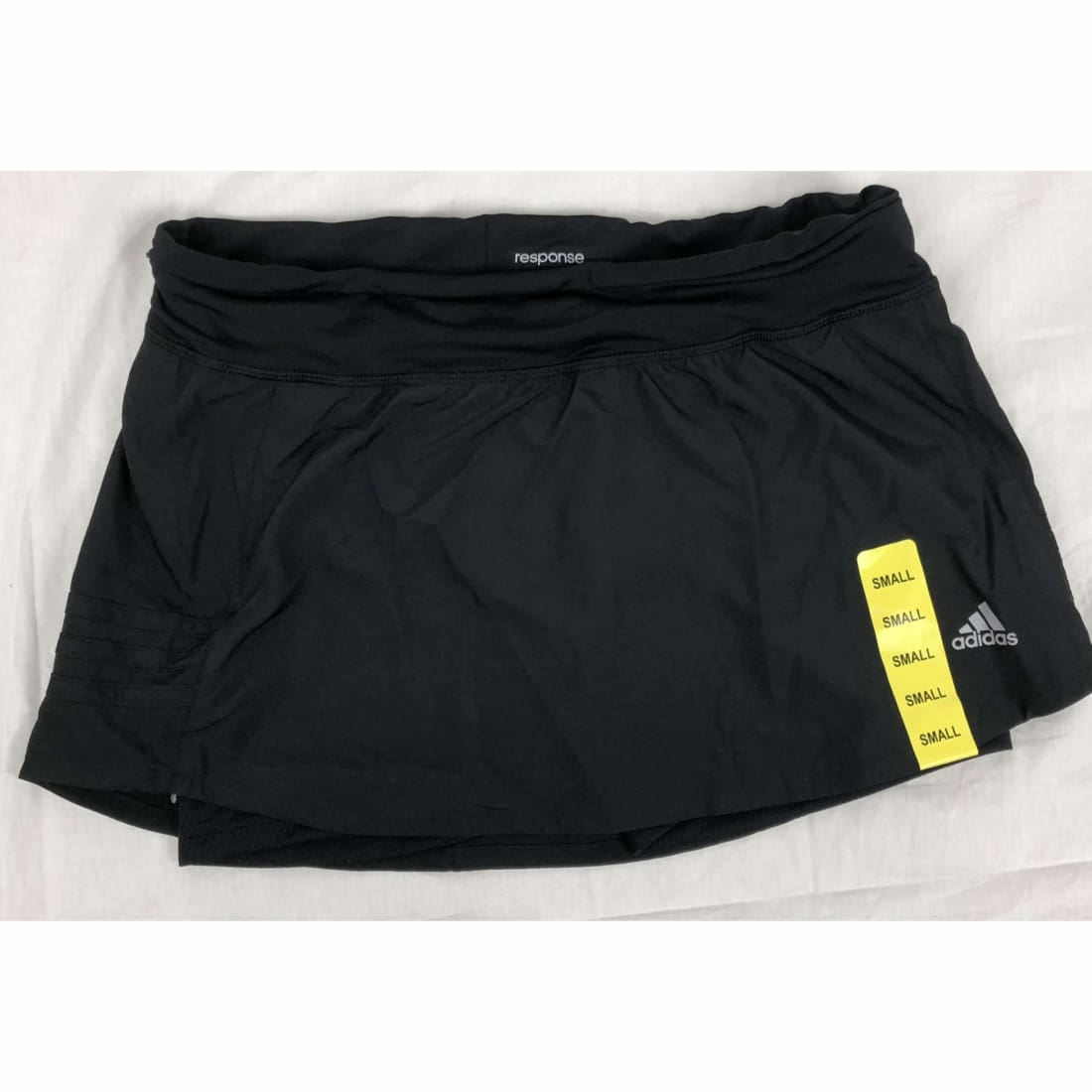 Adidas Womens Response Climalite Skort S / Black Stripe Athletic Apparel