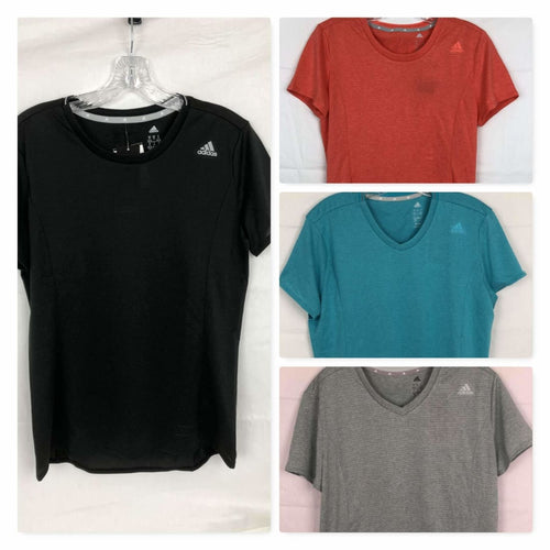 Adidas Womens Short Sleeve Nova Active Tee Athletic Apparel