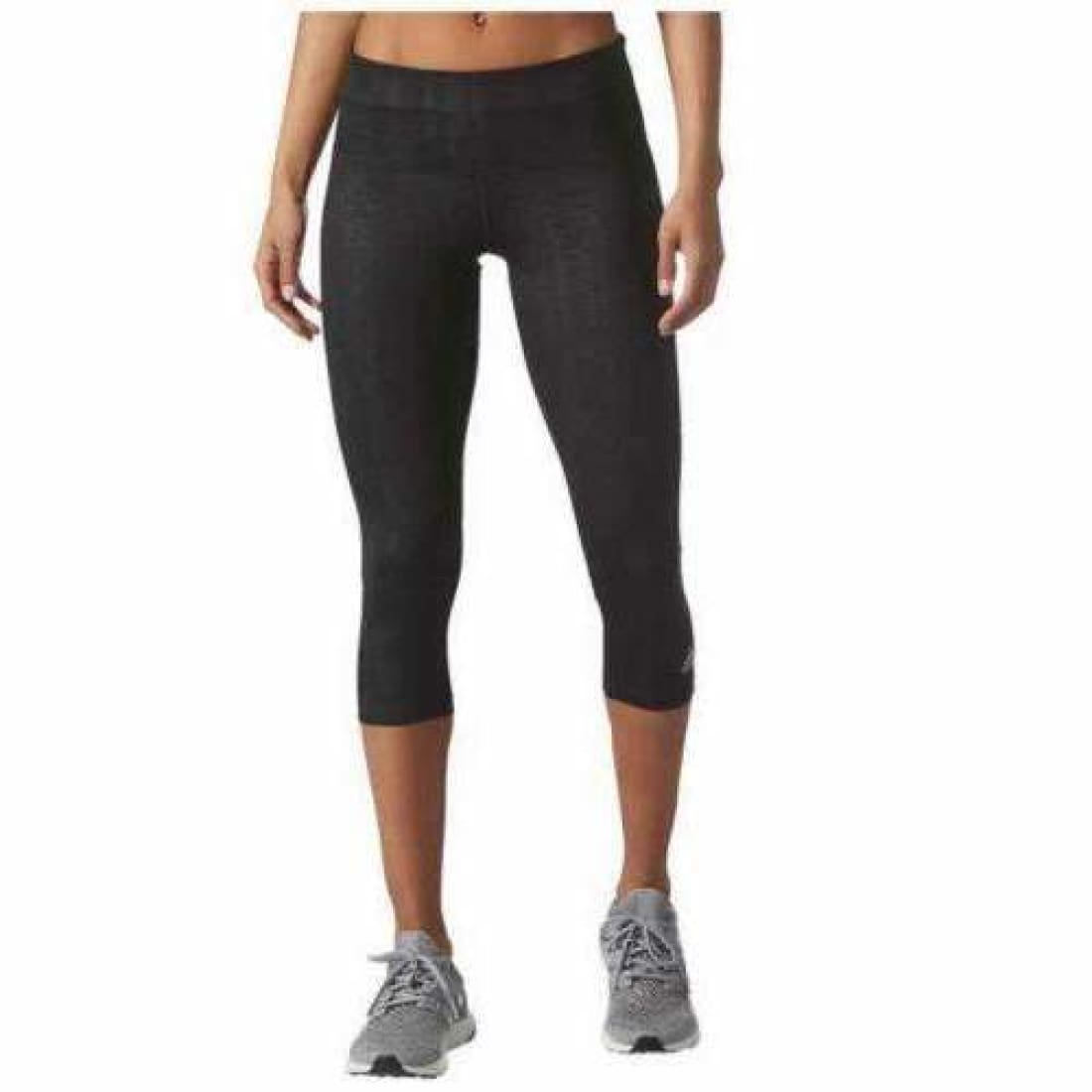 Adidas Womens Ultimate Fit Embossed Climalite 3/4 Tight Athletic Apparel