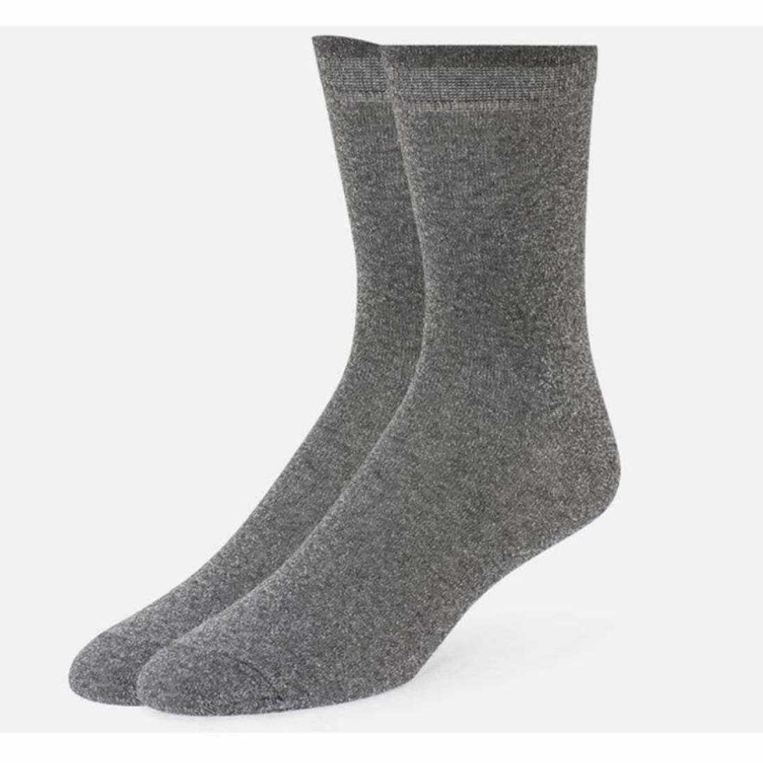 B.ella Womens Vivianna Sparkle Quarter Crew Socks Made In Usa 5-10 / Grey Socks