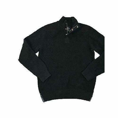 Buffalo David Bitton Mens 1/4 Zip Knit Sweater Sweaters