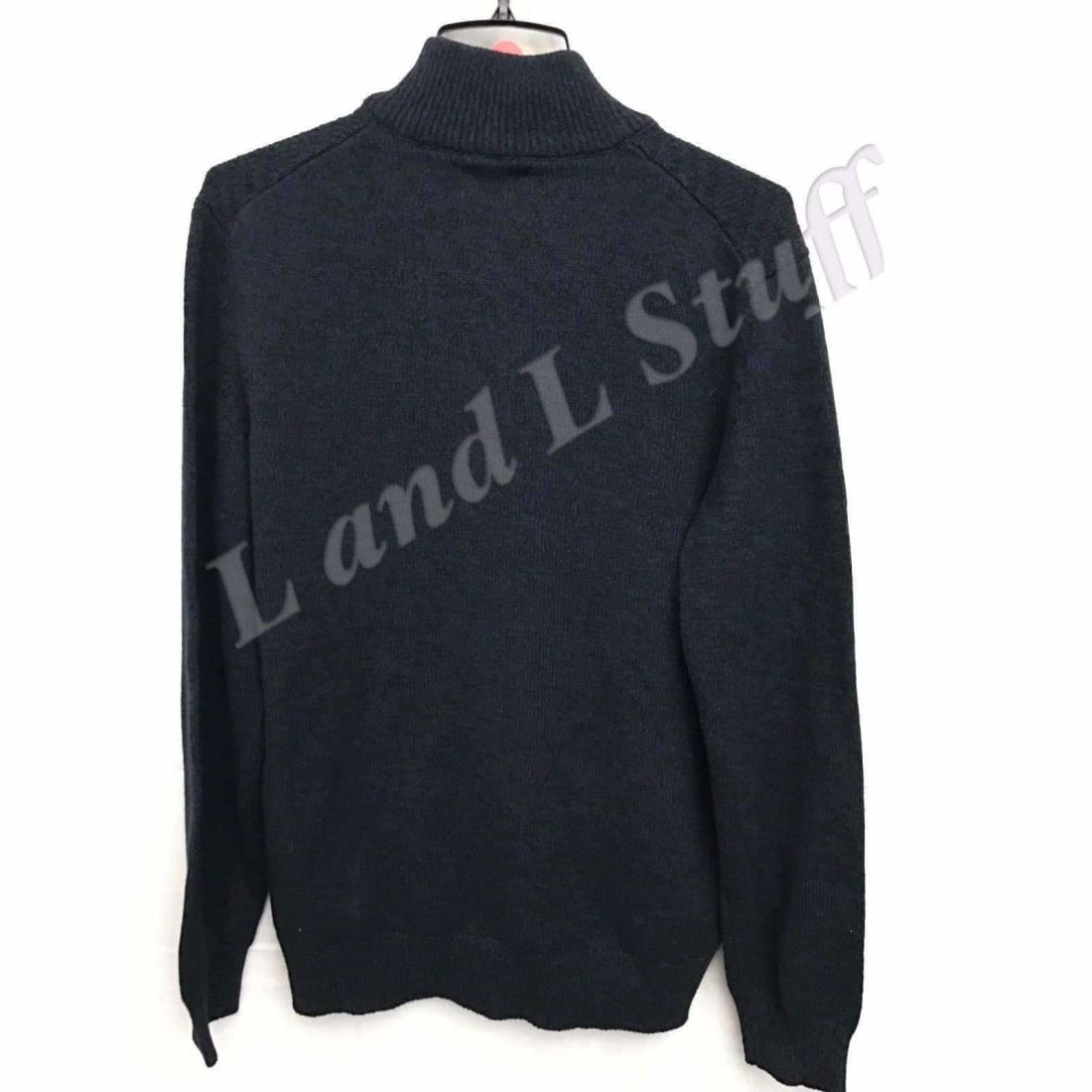 Calvin Klein 1/4 Zip Knit Sweater Mens Sweaters