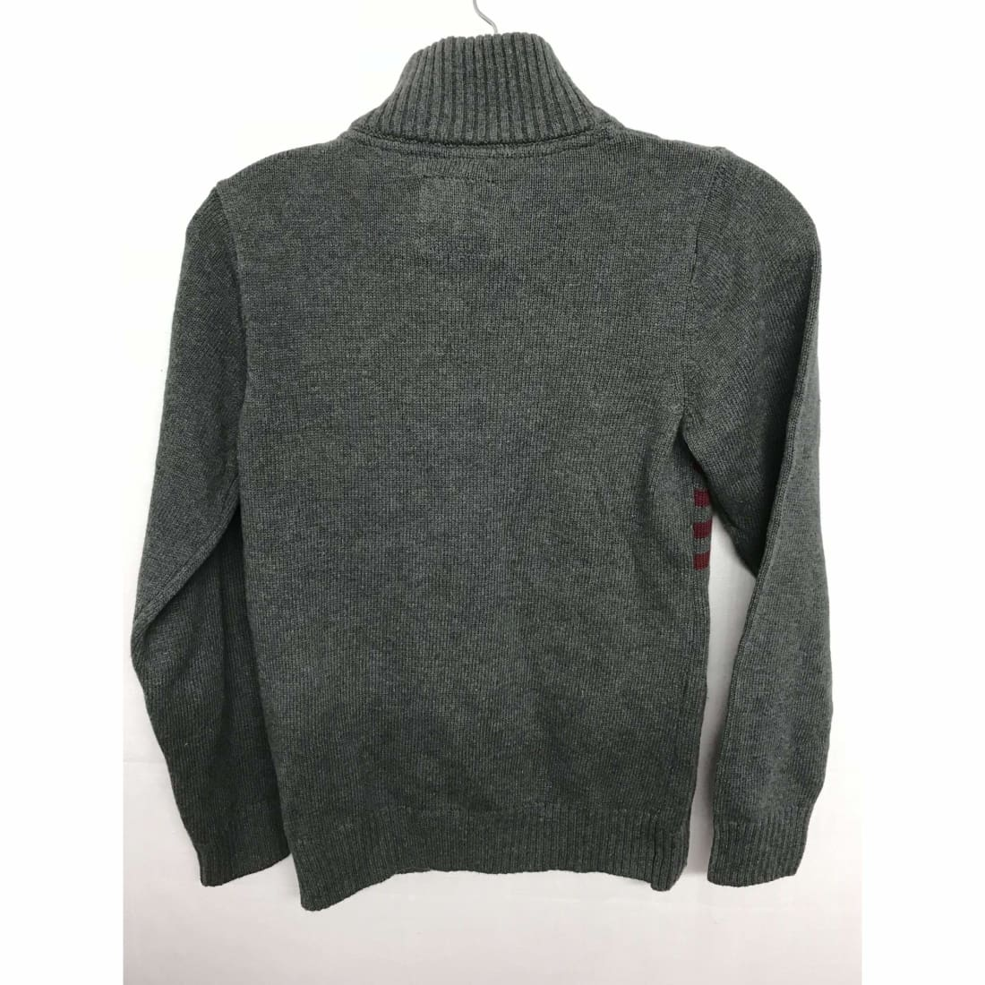 Calvin Klein Boys 1/4 Zip Knit Pullover Sweater 100% Cotton Sweaters