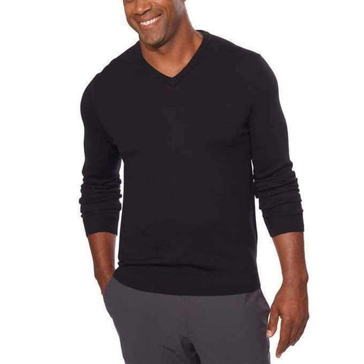 Calvin Klein Mens Merino Wool V-Neck Sweater Sweaters