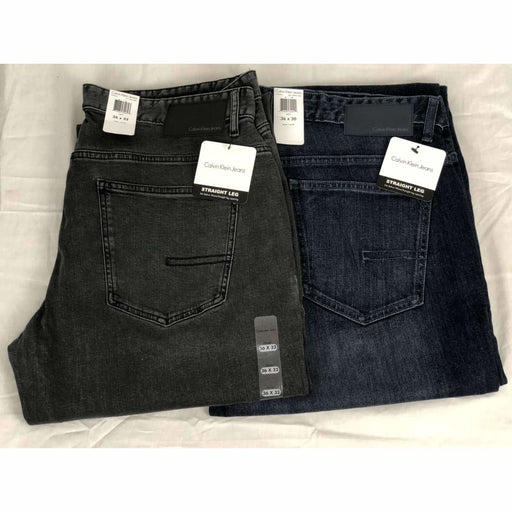 Calvin Klein Mens Straight Fit Jeans Jeans