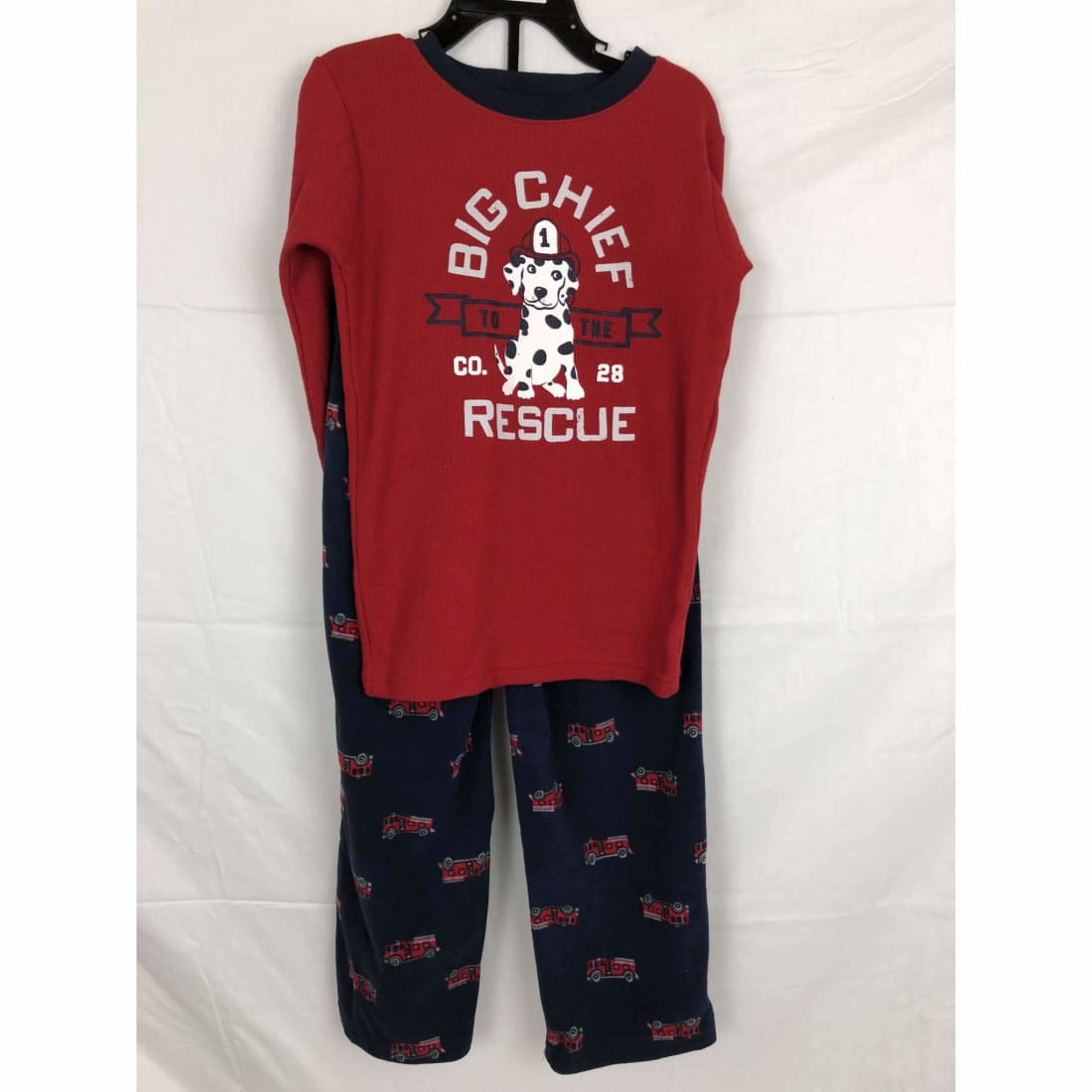 Carters 2 Piece Fleece Boys Big Chief Sleepwear Set Variety 7 Sleepwear