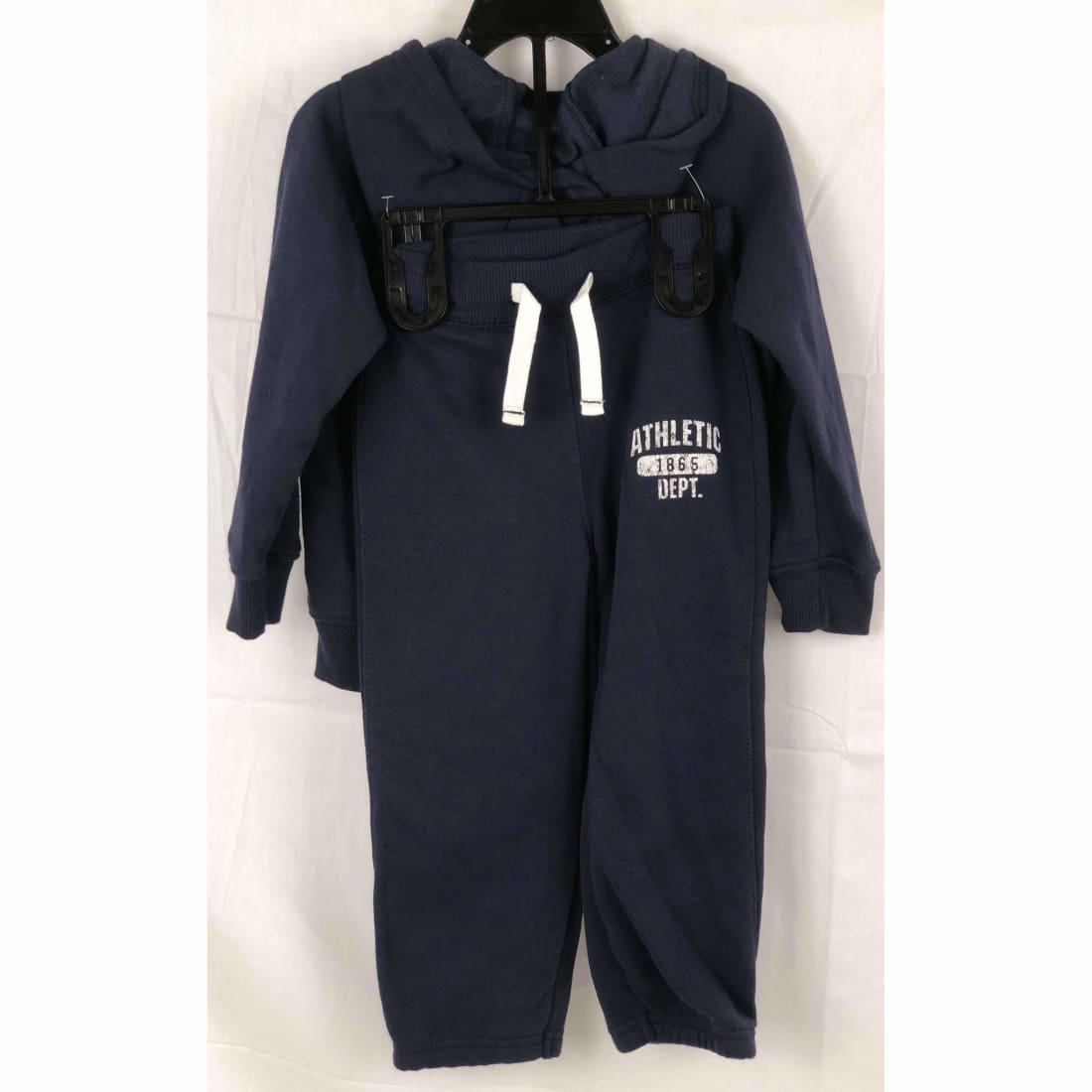Carters Girls 2 Piece Full Zip Hoodie And Jogger Athletic Apparel
