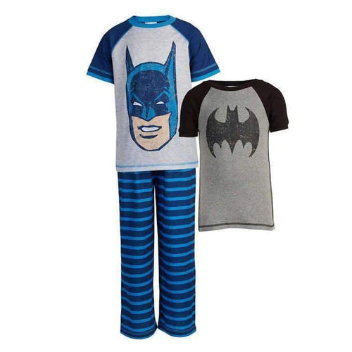 Character Boys 3-Piece Pajama Set 7 / Blue Sleepwear