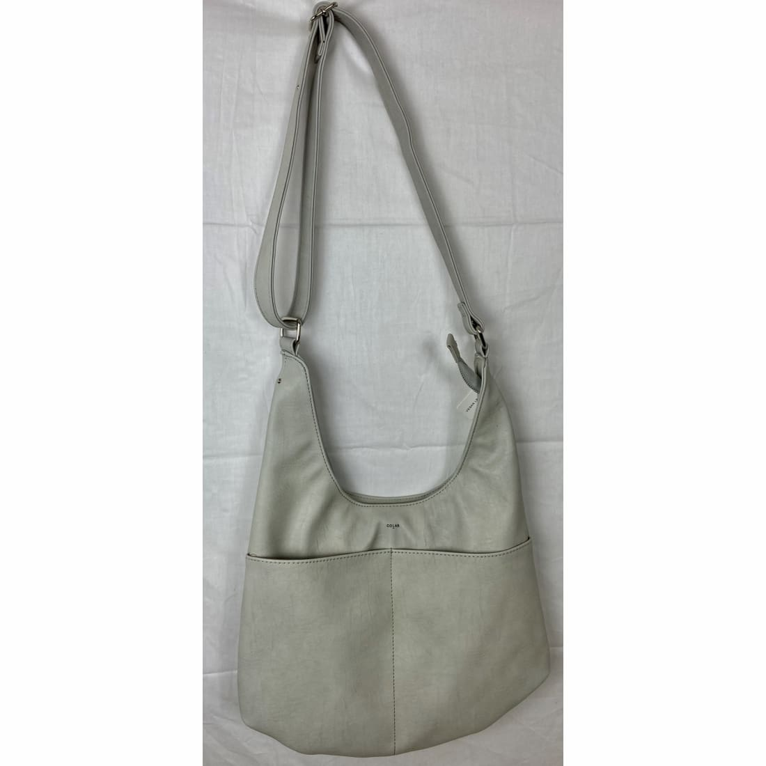 Co Lab Tumbled Hobo Shoulder Bag Ice Purse
