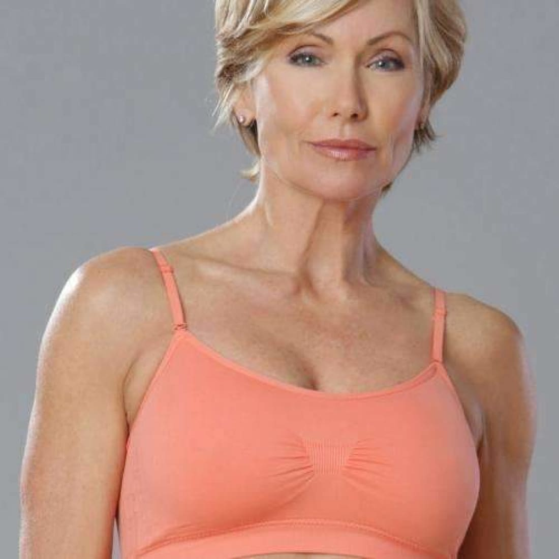 Coobie Womens Scoopneck Bra One Size-Peach Bras & Bra Sets