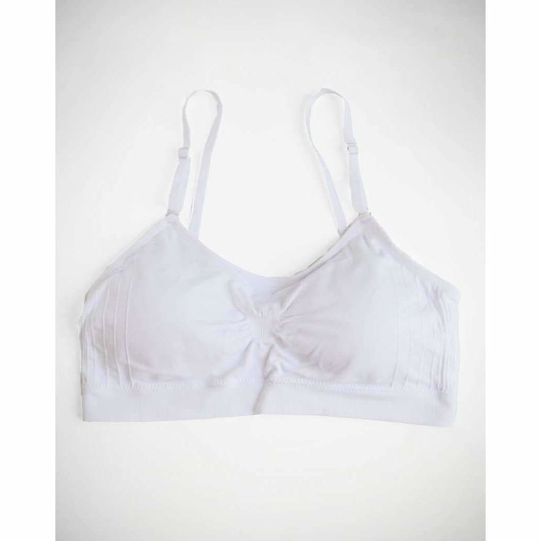 Coobie Womens Scoopneck Bra One Size-White Bras & Bra Sets