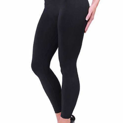 Coobie Womens Seamless Ankle Leggings Black / One (0-10) Leggings