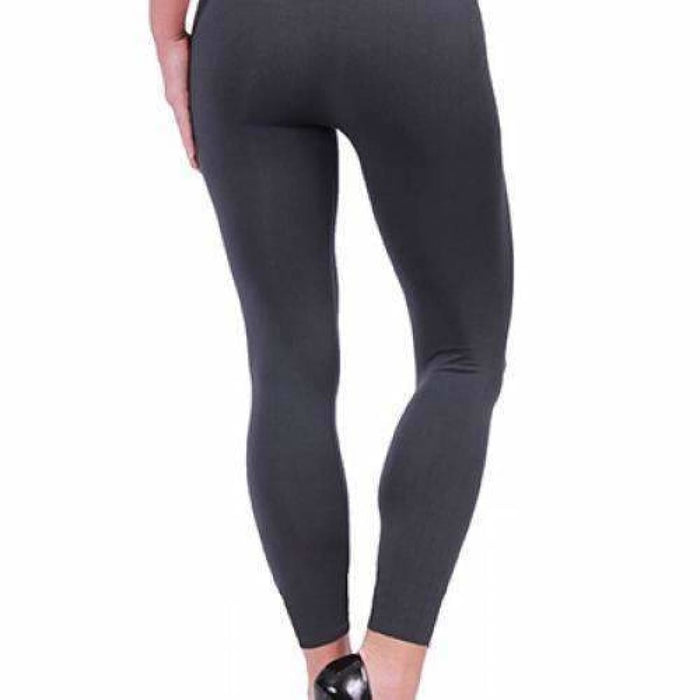 Coobie Womens Seamless Ankle Leggings Charcoal / One (0-10) Leggings